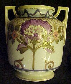 Antique Morimura Nippon Art Deco vase