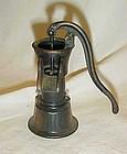 Collectible die cast  metal water pump pencil sharpener