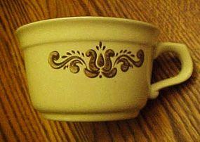 Pfaltzgraff Village pattern soup mug