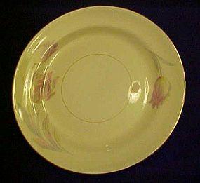 Homer Laughlin Eggshell Nautilus Tulip bread plate