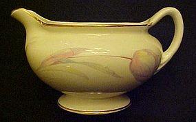 Homer Laughlin Eggshell Nautilus Tulip Creamer
