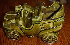 McCoy green Jalopy car planter