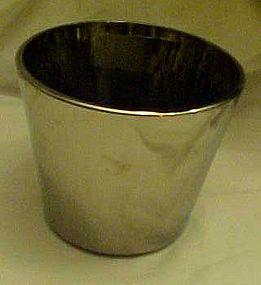 Dorothy Thorpe Mad Men silver flash glass ice bucket