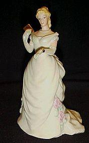 Lenox Moonlight waltz porcelain lady figurine