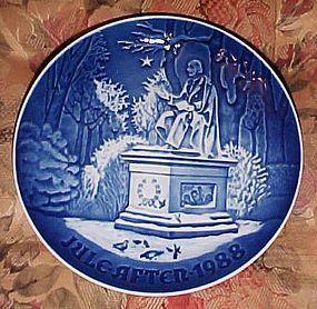 Bing Grondahl 1988 Han Christian Anderson Jul plate