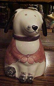 Rare N.S. Gustin dog cookie jar