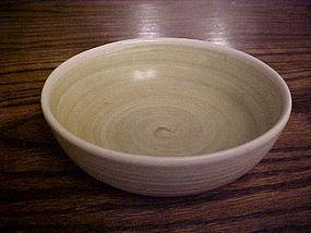 "Franciscan Hacienda green 6 3/8"" soup cereal bowl"