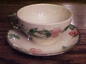 Franciscan Desrt Rose cup and matching saucer