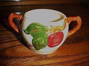 Franciscan Apple sugar bowl bottom circle mark