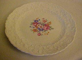 Pope-Gosser Rose point Gypsy Rose dessert  plate 25004