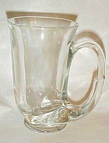 Tiara clear Hunter horn mug tankards 3 in box