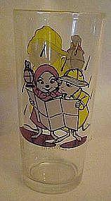Vintage 1977 Pepsi The Rescuers Bernard drinking glass
