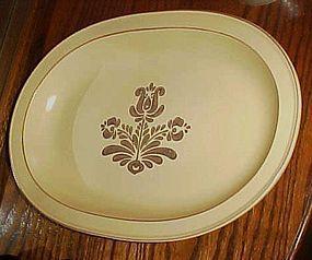 """Pfaltzgraff Village large oval turkey platter 15 3/4"""""""