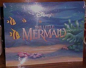 Disney Little Mermaid 4 lithograph set never opened