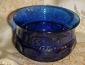 Indiana Tiara Imperial blue  Kings crown dessert bowls