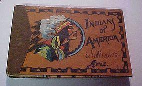 Souvenir book Williams Ariz Indians of America 1935