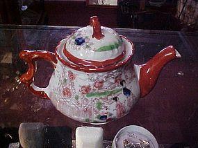 Vintage Japan Geisha Girl teapot unusual shape