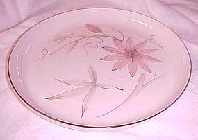 Winfield China Passion Flower dinner plates Mid Century china