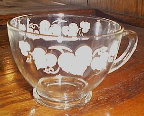 Anchor Hocking white Ivy punch cup replacement