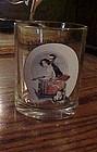 Norman Rockwell Saturday Evening post glass Sneezing Spy Oct 1,1921