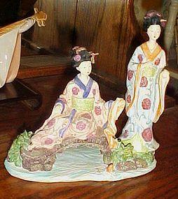 Seymour Mann Collectible Asian ladies figurine