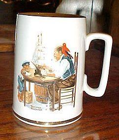 Norman Rockwell stein mug For a Good Boy
