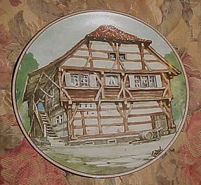 Konigazelt Bayern Half timbered Houses collectors plate 6th in series