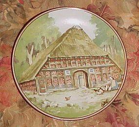 Konigszelt Bayern Half-timbered houses series  Lower Saxonian House
