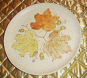 Poppytrail Metlox woodland gold salad plate