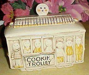Treasure Craft Street car cookie trolley cookie jar