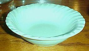"""Vintage Franciscan Ware turquoise cereal bowl 6 1/4"""""""