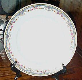 B Bloch & Co Eichwald Czecholslovakia pattern CZE4 Dinner Plate