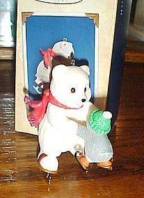 Hallmark Keepsake ornament Fancy Footwork Snowball and tuxedo MIB