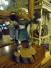 Vintage native American Buffalo dancer kachina doll Navajo signed