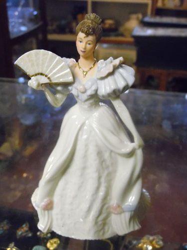 Lenox Beauty of the ball porcelain lady figurine