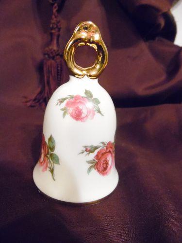 Royal PK Porcelain bell W. Germany The Royal Rose