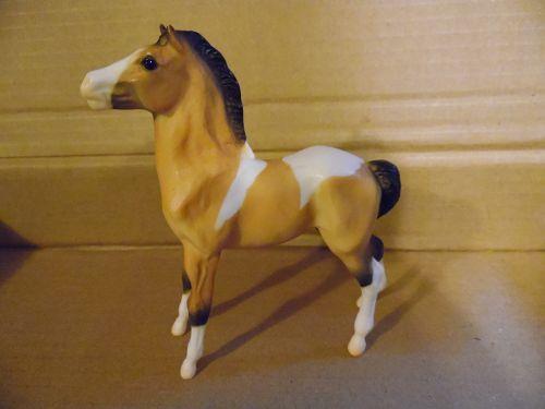 Breyer Buckskin Pinto foal colt 2002
