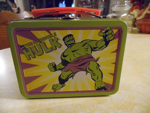 Incredible Hulk mini lunch box - marvel classic licensed product