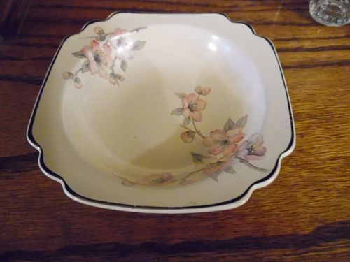 Wells China Homer Laughlin pattern C-84 Century shape 5 1/8 fruit bowl