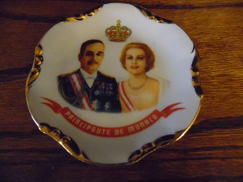 Principaute De Monaco Commemorative Mini Plate