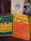 Original box of vintage Starsnap dress fasterner snaps on cards