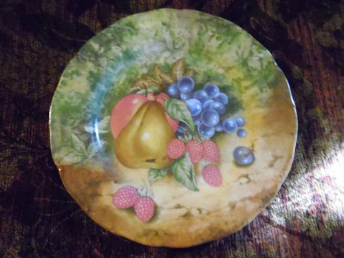 Haas Czjzek decorative fruits plate Czech Republic