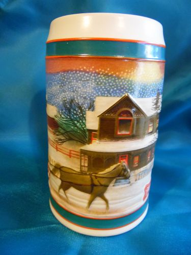 Miller Beer Christmas Beer Stein To the Best Holiday Traditions