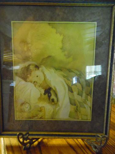 Vintage Frances Tipton Hunter original framed print