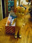 """Shirley Temple 6"""" frozen Charlotte Doll  20's - 30's"""