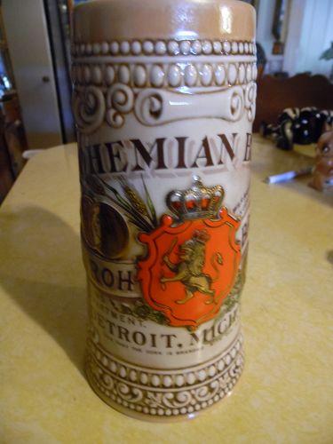 Bohemiam Beer  Brewing Co. beer stein Strohs