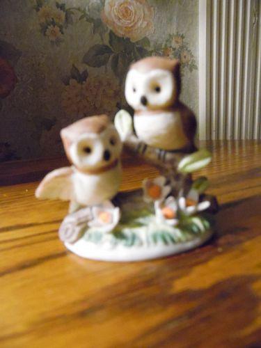 George Good small owls figurine 2.5 inch