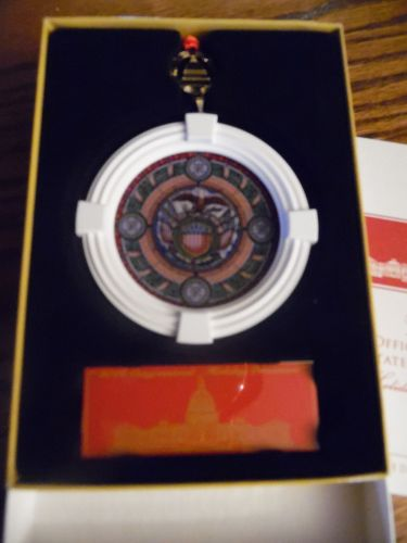 Official 2018 Congressional Holiday ornament MIB