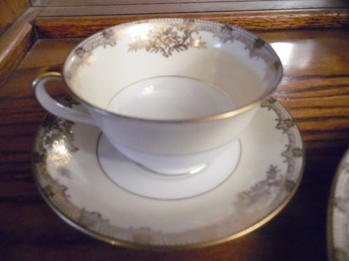 Vintage Noritake Revenna  cup and matching saucer