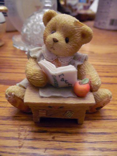 Cherished Teddies Linda ABC Friend to Me Enesco 156426 Figurine
